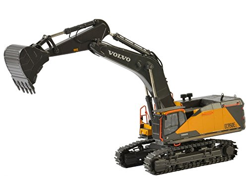 Volvo EC950E Tracked Excavator 1/50 Diecast Model by WSI Models 61-2001 (Model Excavator Diecast)