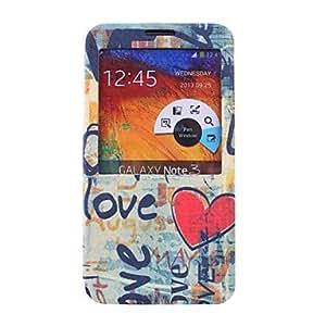 GX Teléfono Móvil Samsung - Carcasas de Cuerpo Completo/Fundas con Soporte - Gráfico/Diseño Especial - para Samsung Galaxy Note 3 ( Multi-color ,