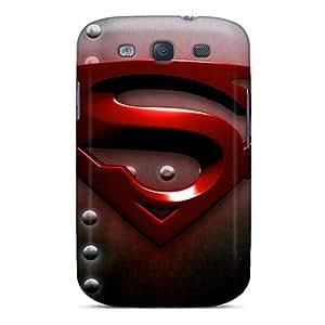 New Superman Tpu Case Cover, Anti-scratch TinnySunshine Phone Case For Galaxy S3