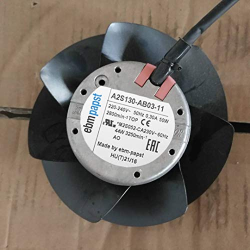 for ebmpapst A2S130-AB03-11 220V 0.30A 50W high Temperature axial Fan ()