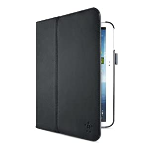 Belkin Multitasker Case with Stand for 10.1-Inch Samsung Galaxy Tab 3 - Black (F7P124ttC00) from Belkin Components