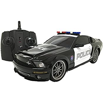 OFFICIALLY Licensed Electric Full Function 118 Ford Mustang Shelby GT500 Super Snake Police RTR  sc 1 st  Amazon.com & Amazon.com: XQ 2.4 GHz 1:18-scale Ford Mustang Shelby GT350 Multi ... markmcfarlin.com