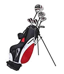 The Precise teen package set is a perfect game improvement set of clubs for any golfer looking for more distance, forgiveness, and accuracy. This set was designed to help teens improve their game all-around. It includes all the clubs they nee...