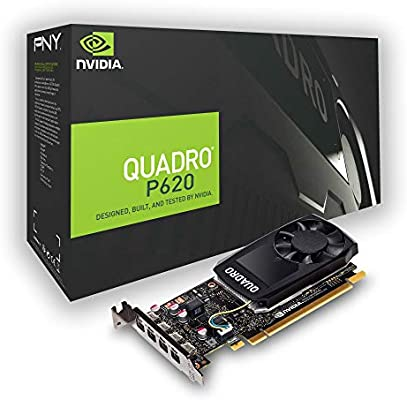 PNY Quadro P620 2GB GDDR5 - Tarjeta gráfica (Quadro P620, 2 GB ...