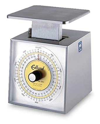 Edlund Premier Series Dual English / Metric Portion Control Scale
