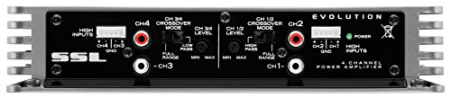 Sound Storm EV4.400 Evolution 400 Watt, 4 Channel, 2 to 8 Ohm Stable Class A/B, Full Range Car Amplifier by Sound Storm Laboratories (Image #2)