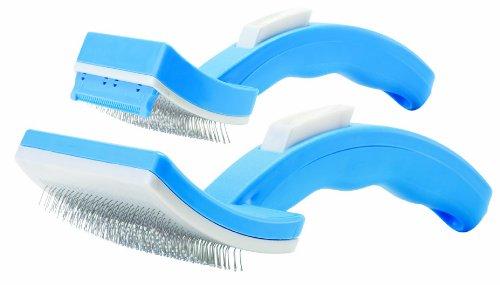 PetZoom Self Cleaning Grooming Brush,