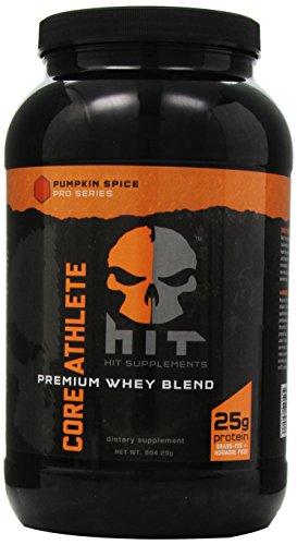 HIT Supplements Core Athlete Whey Protein Blend, Pumpkin Spice 904.29 g.