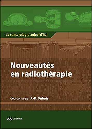 Amazon Fr Nouveautes En Radiotherapie Collectif Jean