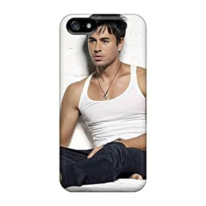 For LWbaTuw6643qkcSo Enrique Iglesias Handsome Protective Case Cover Skin/iphone 5/5s Case Cover