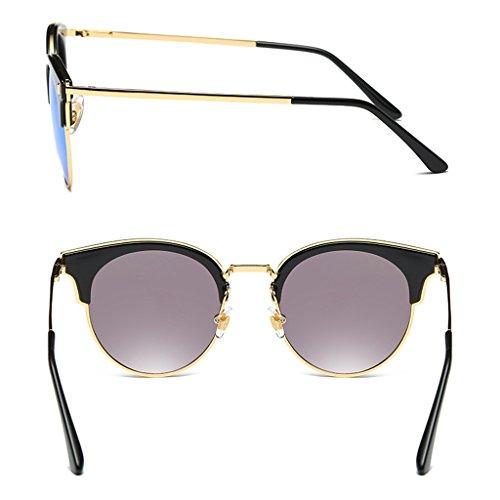 Polariseur Personnalisées Retro Lunettes Soleil Violet Violet Couleur De Sunglasses Pour WANGXIAOLIN Homme 4Axngwg