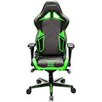 DXRacer OH/RV131/NE Black & Green Racing Series Gaming Chair