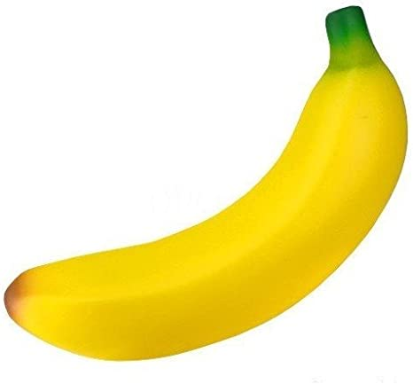 Banana squeeze toy//STRESS RELIEVER