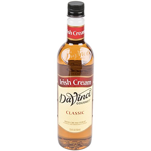 Liqueur Irish (DaVinci Gourmet Classic Syrup, 25.4-Ounce Bottles (IRISH CREAM))