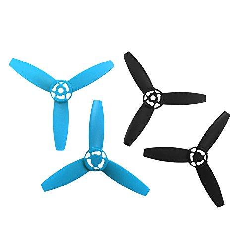 Parrot PF070105 Hélice pour BeBop Drone Bleu