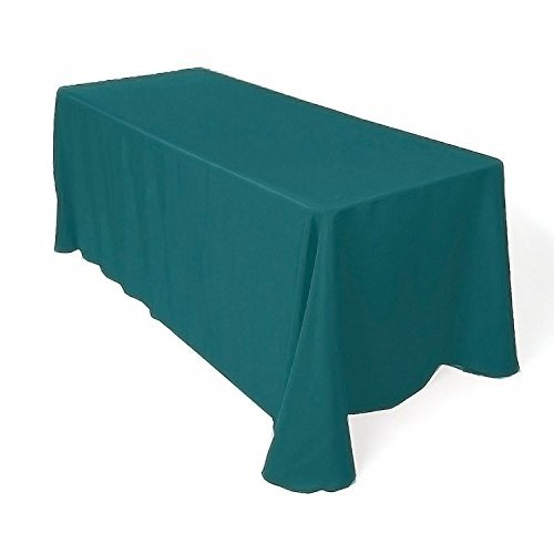 Gee Di Moda Rectangle Tablecloth - 90 x 156 Inch - Caribbean Rectangular Table Cloth for 8 Foot Table in Washable Polyester - Great for Buffet Table, Parties, Holiday Dinner, -