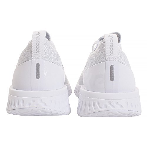 True de React 102 Compétition pure White Epic Femme Multicolore Running Nike Chaussures WMNS White Platinum Flyknit xX4XvR1