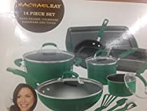 Rachael Ray Fennel Cookware Set 14 pieces