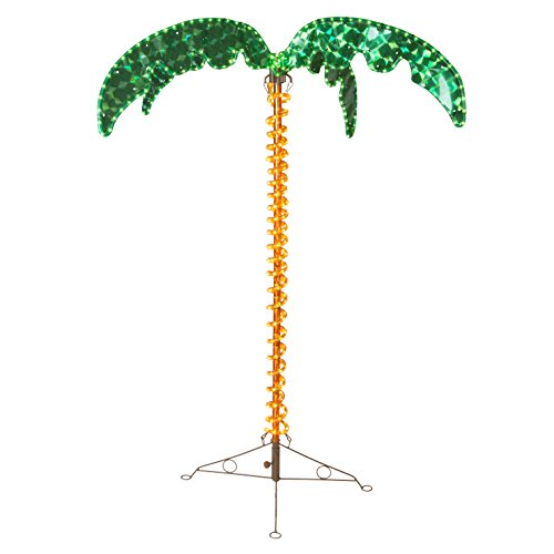 (4.5' LED Rope Light Palm Tree)