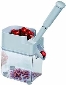 Fackelmann 48372 - Máquina para deshuesar cerezas con recipiente