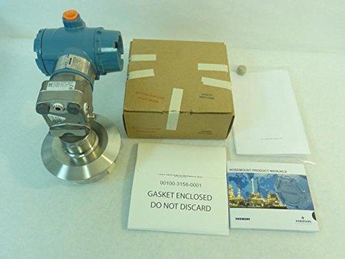 Rosemount 3051CG3A22A1AM5S1E5 Pressure Transmitter w/ Gasket by Rosemount