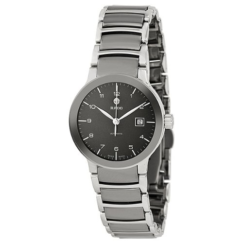 Rado-Centrix-Automatic-Ceramic-and-Stainless-Steel-Ladies-Watch-R30940112