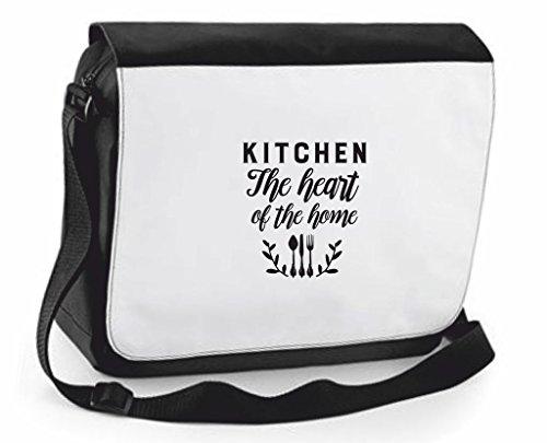 Family Crossbody Shoulder Compartment Large Statement Messenger Heart Home Traveling Case Of Cover Black The Handbag Bag Kitchen U7IH44