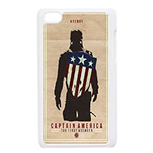 ipod 4 cell phone cases White Captain America fashion phone cases UTE454610