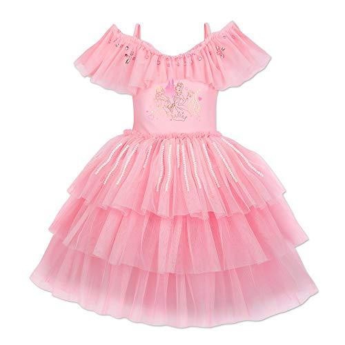 Disney Disney Princess Deluxe Leotard for Kids Size 4 Pink from Disney