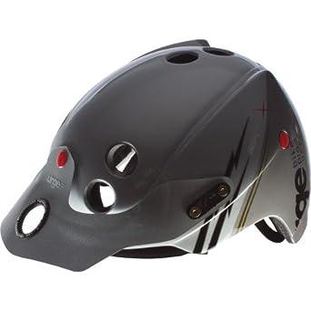 Urge UBP12203M - Casco para bicicleta de montaña, color plateado (54-57 cm