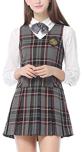 Pleated Jumper Dress - 9