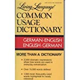 Living Language Common Usage German Dictionary, Common Usage Staff and Crown Publishing Group Staff, 0517557827