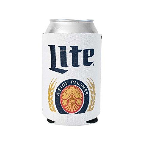 - Officially Licensed Miller Lite Drink Can Holder Neoprene Beer Huggie Cooler Sleeve (1)