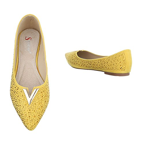Ital-Design - Cerrado Mujer amarillo