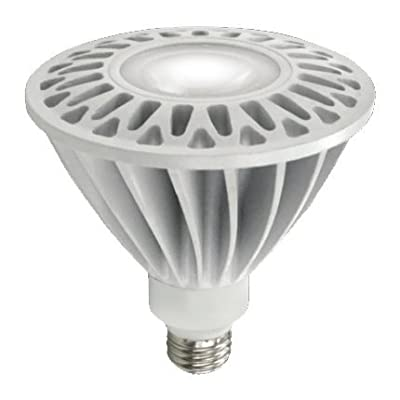 (Case of 6) TCP LED23E26P3830KNFLND 23-Watt PAR38 3000K - Narrow Flood - LED Light Bulb