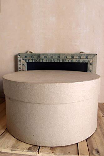 (Richland Paper Mache Hat Box 10