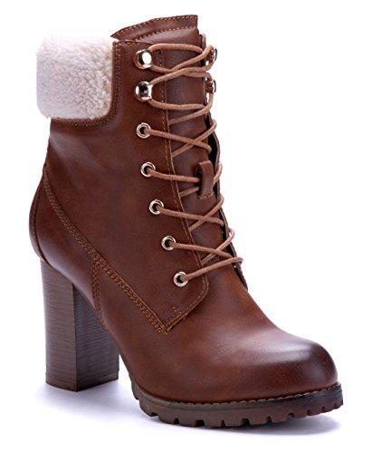 12d4abe797ce 9 Schuhe Blockabsatz Boots Damen Camel Stiefel Klassische cm Stiefeletten  Schuhtempel24 Pvx40qaw ...