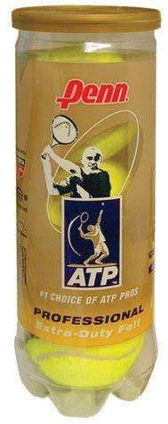 Penn ATP Extra Duty Tennis Balls (1 Dozen=4 Tubes of 3 Balls=12 Balls) [Misc.]