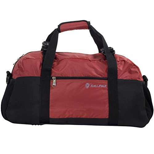 calpak-avenger-red-22-inch-lightweight-duffel-bag