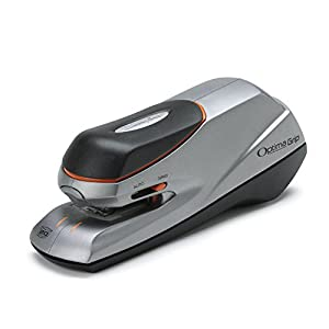 Swingline Electric Stapler, 20 Sheet Capacity, Optima Grip Dual Power, Silver (48207)