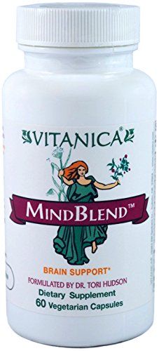 Vitanica - MindBlend - Brain Support - 60 Vegetarian Capsules