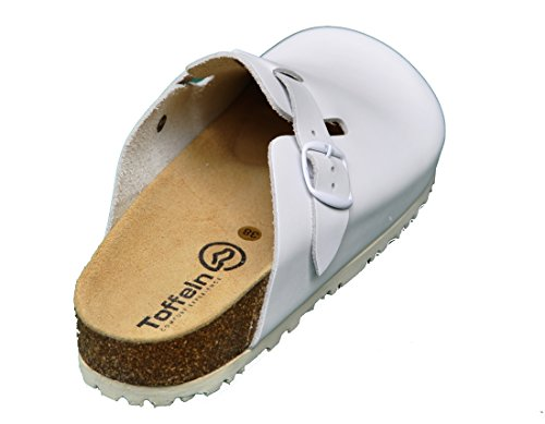 Toffeln Nature Form 8792 sandales 'boston' semelle en liège - Blanc 5