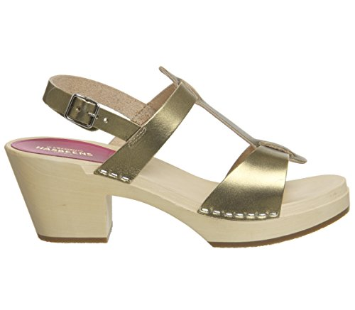 Clog Gold Swedish Hasbeens Women's Greek Sandal 1417BwqxAn