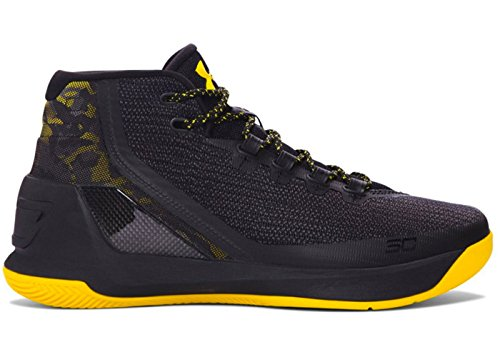 Curry Basketball Armour Black Under 3 Men's Shoe SUTZaqEw