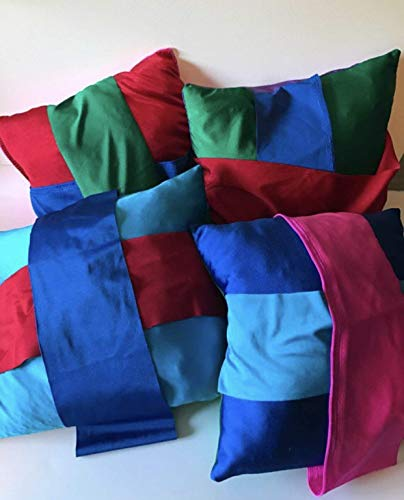 Large Weighted Fidget stretch pillow with stretch bands, 12