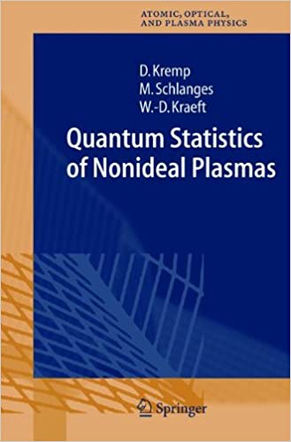 Book Quantum Statistics of Nonideal Plasmas (Springer Series on Atomic, Optical, and Plasma Physics)
