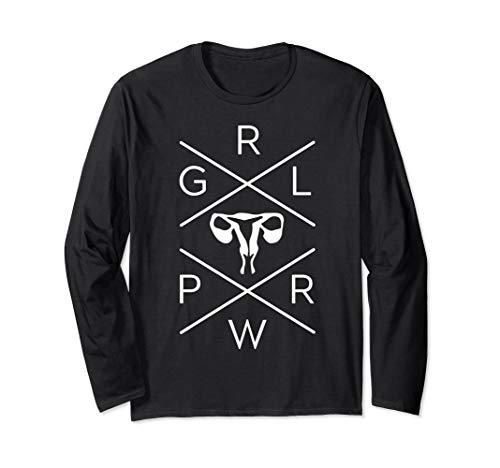 Uterus GRL PWR Shirt - Girl Power Shirt - Ovary GRL PWR Tee ()