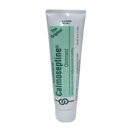 Calmoseptine Antiseptic Ointment 4 oz (Pack of 12)