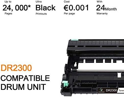 DR2300 Tambor Alta Capacidad Compatible para Brother HL-L2300D ...