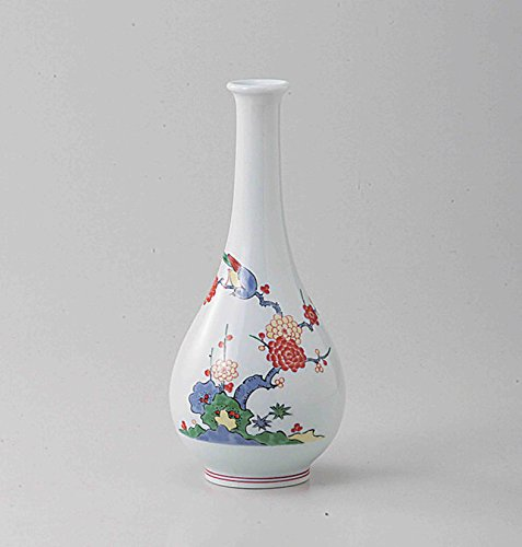 TOKYO MATCHA SELECTION - [VALUE] Arita-yaki : Flower Bird Tree - Japanese Porcelain Small Vases w Box from Arita Saga Japan [Standard ship by SAL with Tracking number & Insurance]